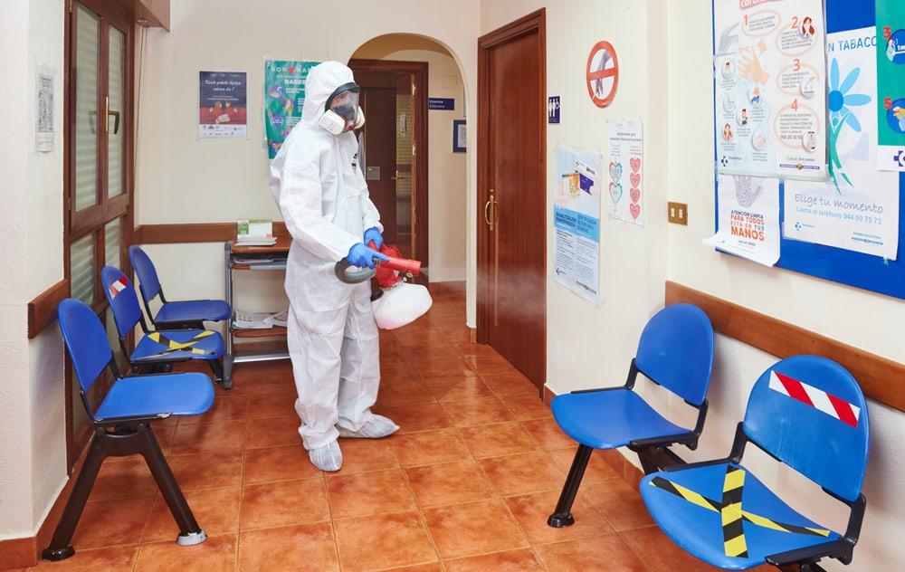 Bizkaia Irratia Desinfección Empresas Coronavirus