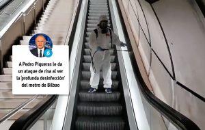 Importancia Sanidad Ambiental Pedro Piqueras Metro Bilbao